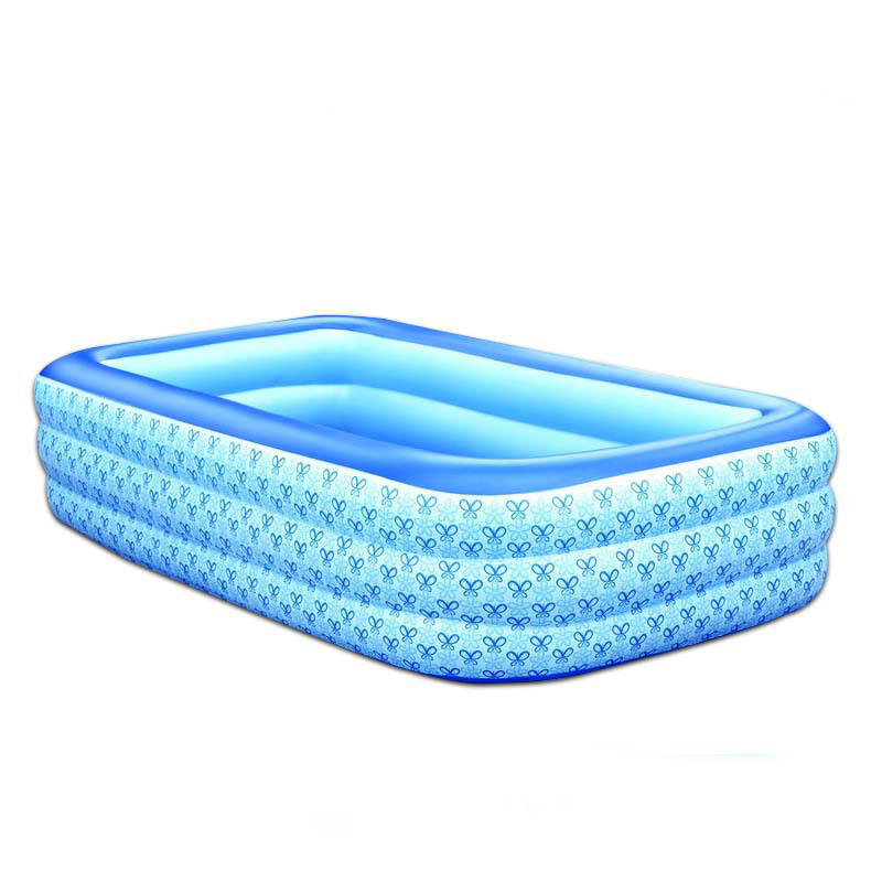 new 3 6 years old children piscine family rectangle pvc inflatable pools piscina baby inflatable
