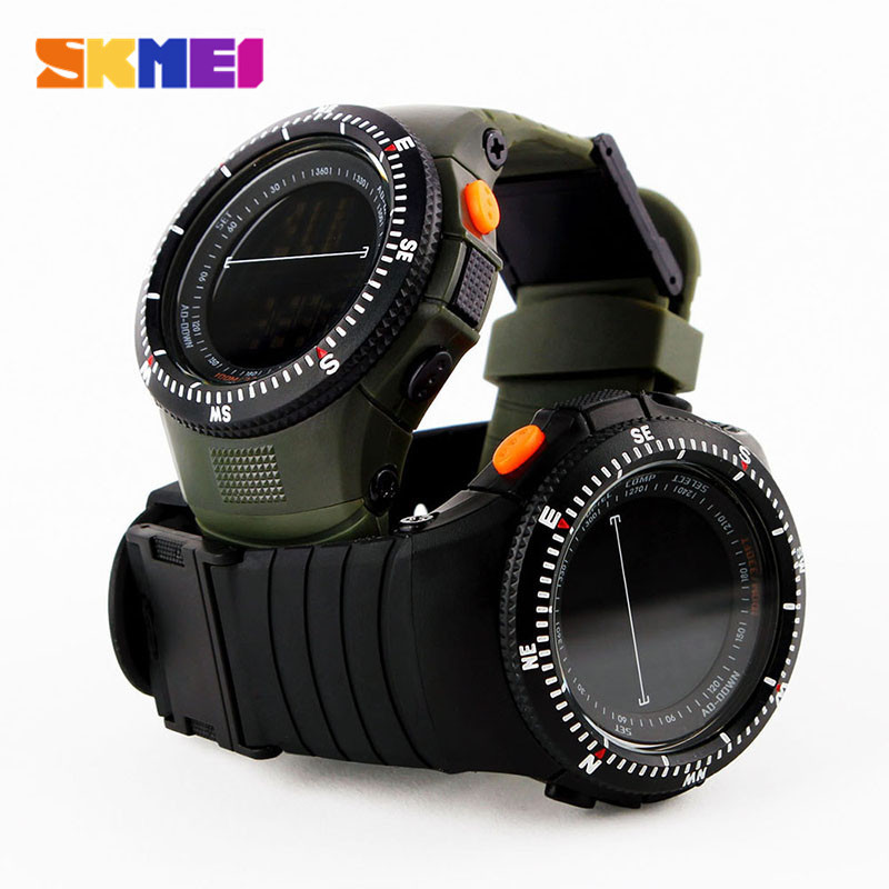 Skmei Military Tactical Multifunctional Waterproof Shockproof Watch Durable Outdoor Climbing Running Men Wristwatch Stopwatch