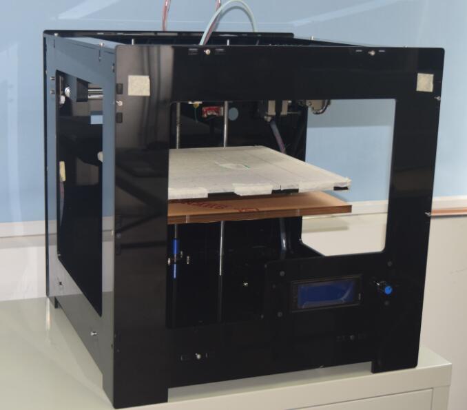 2017 modelos 3D makerbot impresora, gran área de impresión de alta precisión