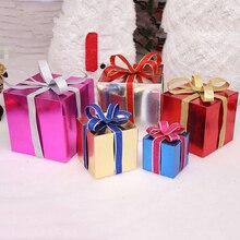 5 pcs/set Christmas Box Xmas Tree Decorations,Christmas Eve Gift Bag Storage Boxes,Christmas Wrapping Paper Present Packing Box
