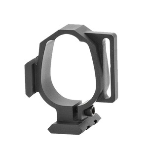 Image 4 - Tactical Barrel Band For Ruger 10/22 Two Picatinny rails & Sling Slot Expand Accessory Mounting Options Black Free Shipping