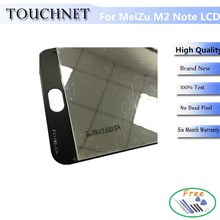 Smart Phone Accessories LCD Screen 100% Original+Touch Screen Replacement Accessories For Mezu M2 Note