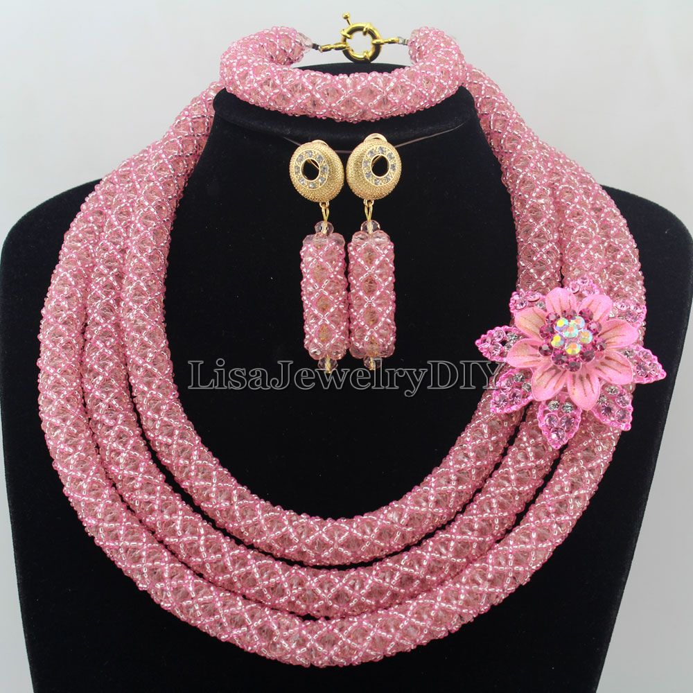 Fashionable African Beads Jewelry Sets Crystal Jewelry Set Nigerian Wedding Necklace Womens Jewellery Set Jewelry Sets HD7372Fashionable African Beads Jewelry Sets Crystal Jewelry Set Nigerian Wedding Necklace Womens Jewellery Set Jewelry Sets HD7372