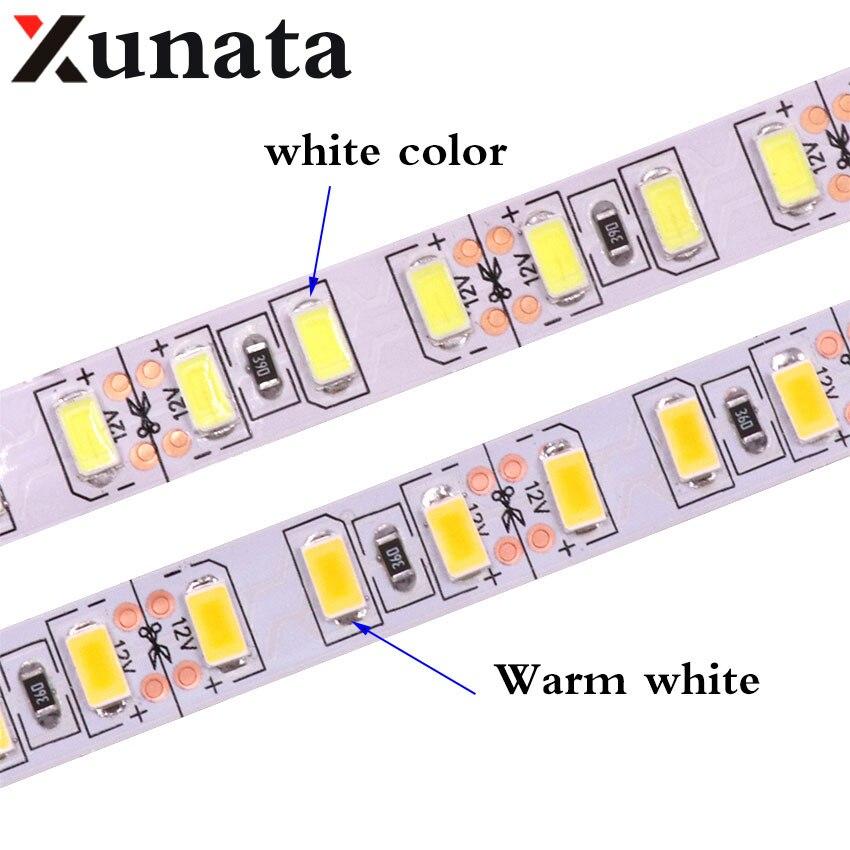 1m 2m 3m 4m 5m LED Strip Light SMD 5630 120leds/m Non Waterproof Flexible 5M 600 LED tape 5730 DC12V tape Rope lamp Light
