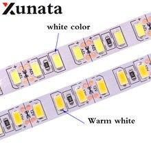 Tira de luz de led, 1m, 2m, 3m, 4m e 5m, smd, 5630, 120leds/m, não fita led impermeável flexível 5m 600, 5730 dc12v, fita de luz, lâmpada de corda