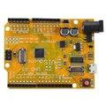 PARA UNO R3 ATMEGA328P Junta CH340 Micro Mini USB para Arduino Compatible Amarillo