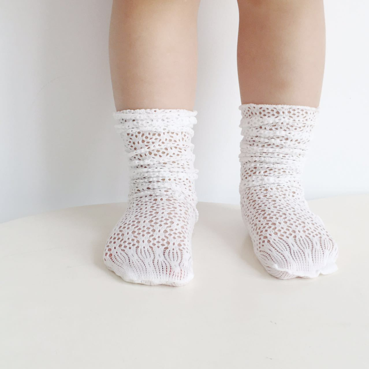 Baby Girl Socks Toddler Baby Cotton Mesh Breathable Socks Newborn Infant Non-slip Baby Girls Socks mother kids socks