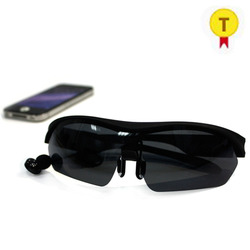 Wearable Bluetooth Smart Music Glasses smart wireless mp3 headset bluetooth sunglasses  Touch Hiking Goggles for xiaomi iphone