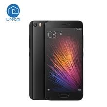 Última Xiaomi Mi5 En stock xiaomi mi 5 3 GB snapdragon 820 M5 3000 mAh 16 ML NFC dual sim 4 K video embellecido cámara(Hong Kong)
