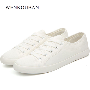 Image 1 - Canvas Shoes Men Sneakers Summer Man Casual Male Shoes Adult Sapato Masculino White Sneakers Lace Up Cotton Fabric Footwear