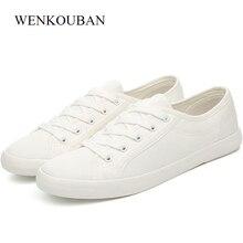 נעלי בד גברים סניקרס קיץ גבר מזדמן זכר נעליים למבוגרים Sapato Masculino לבן סניקרס תחרה עד כותנה בד הנעלה