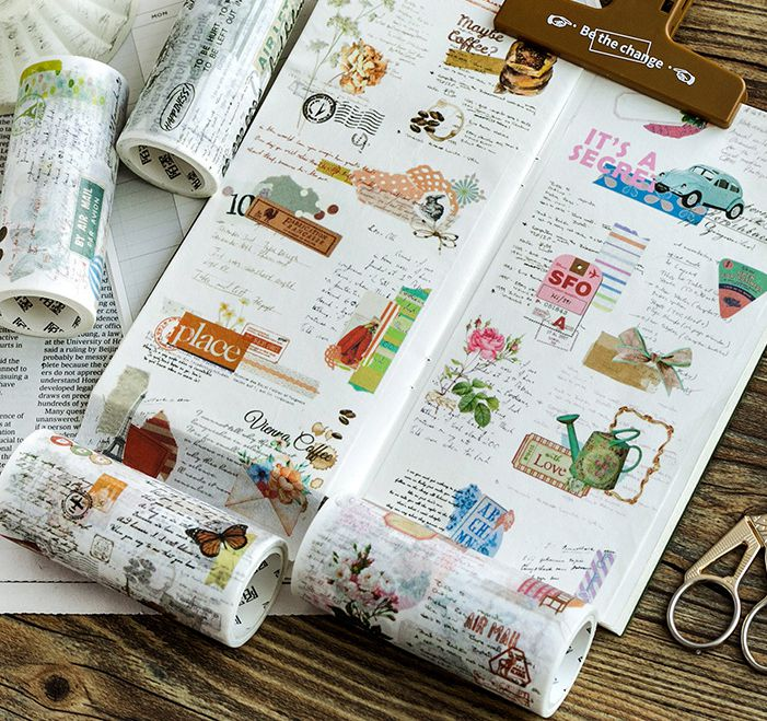 England And France Fashion Travel City View Theme Wide Washi Tape 10m*5M DIY Journal TN Decoration Supplies 1 Roll мужская классическая рубашка fashion city 2015new