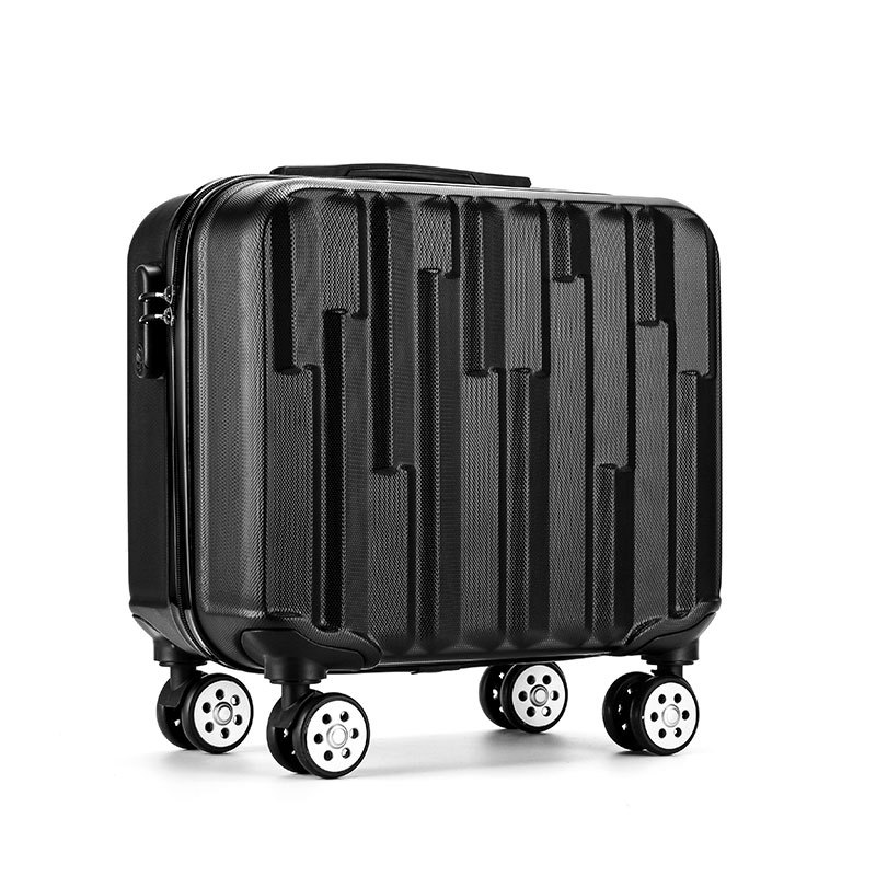 Fashion 18 Travel Luggage Suitcase Spinner Wheels Boarding Case Trolley Suitcase Wheeled Travel Rolling Luggage Suitcase