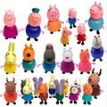 Экшн-Фигурка «Свинка Пеппа» 25 шт./компл., серия «Джордж папа», модель семьи, игрушки, подарки для детей