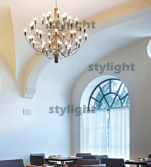 18 heads pendant lamp 2097 by Gino Sarfatti suspension lighting chandelier 2097 free shipping
