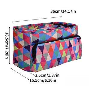 Image 3 - KOKNIT 12 Styles Knitting Bag Organizer Yarn Storage Case For Crocheting Hook Knitting Needles Wool Storage Tote Bag For Women