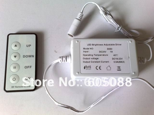 2018 DC24v 39w rectangle dimmable led panel light 300x1200mm 0--2600lm ceiling embeded +power driver +4-keys RF remote control