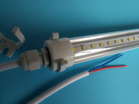 Free Shipping IP67 Waterproof LED Tube Light 600mm 900mm 1200mm 1500mm 2700 6500k Color Temperature CCT