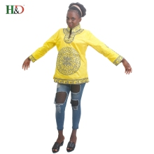 H&D african traditional style dress for women