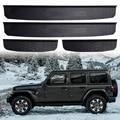 Пороги  ступенчатые защитные наклейки  отделка интерьера  Накладка на порог  Накладка для входа  защита для 2018 Jeep Wrangler JL 4 двери  соты