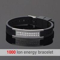 Positive Scalar Quantum Bio Energy Bracelet For Man Power Bands Energy Bracelets With Keep Balance Magnetic