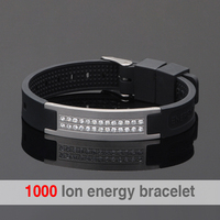 Positive Scalar Quantum Bio Energy Bracelet For Man Power Bands Energy Bracelets With Keep Balance Magnetic
