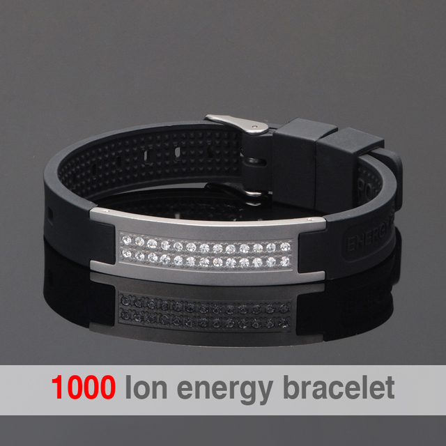 Scalar Quantum Bio Elements Energy Bracelet For Man Bands Bracelets With Keep Balance Magnetic