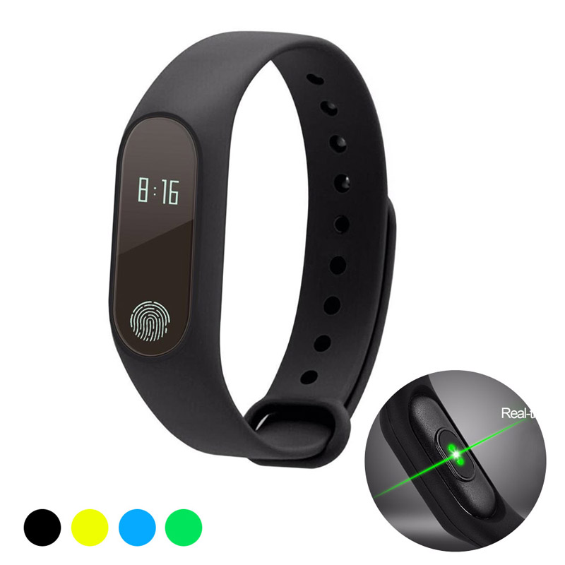 TapicRay Smart band Fitness Tracker Heart Rate Health Wristband Pedometer IP67 Waterproof Smart Bracelet M2 For Android IOS