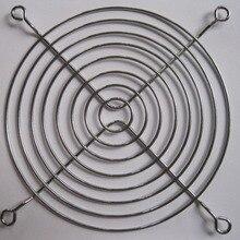 3 шт. DC вентилятор Гриль для защиты пальцев 120 мм серебристый металл