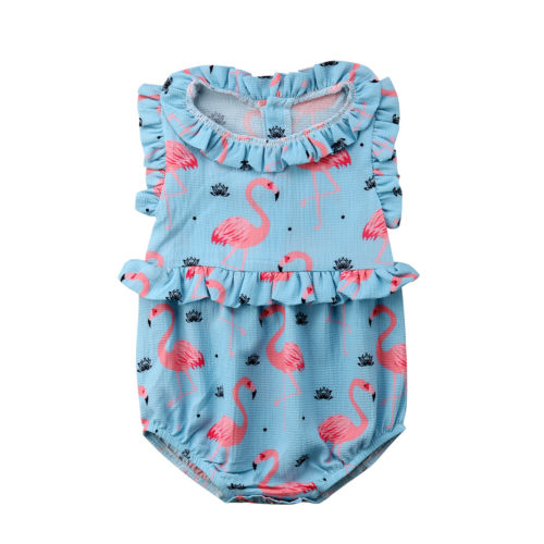 1df772709b09 Swan Cute Newborn Infant Baby Girl Cotton Sleeveless Romper Jumpsuit Kids  Girls Summer Princess Party Rompers Playsuit Clothes. 1 order