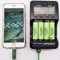 100% original liitokala lii-500 lcd 3.7 v/1.2 v aa/aaa 18650/26650/16340/14500/10440/18500 carregador de bateria com tela