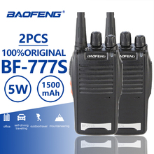 Buy 2pcs Baofeng BF-777S Walkie Talkie 5W UHF Professional Two Way Radio Station Ham Hf Radio Transceiver Portable PTT Walky Talky directly from merchant!