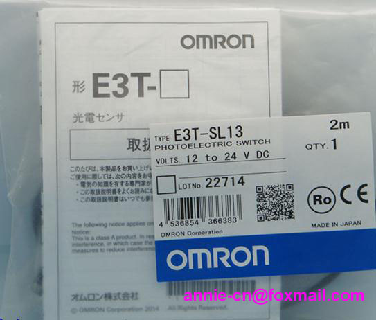 New and original  E3T-SL13, E3T-SL14  OMRON Photoelectric sensor  Photoelectric switch   12-24VDC    2M  цены