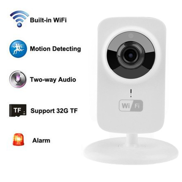 V380 Wireless IP Camera Onvif 720P IPC  Mini wi-fi CCTV Security Cameras Support Android IOS Motion detection Alarm System S1