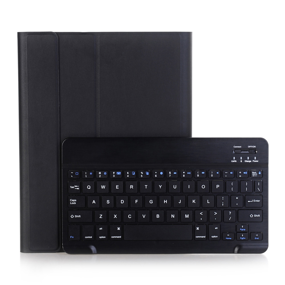 For iPad2/3/4 Wireless Bluetooth Keyboard + PU Leather Cover Protective Smart Case For iPad 2 / 3 / 4 + Film + Stylus