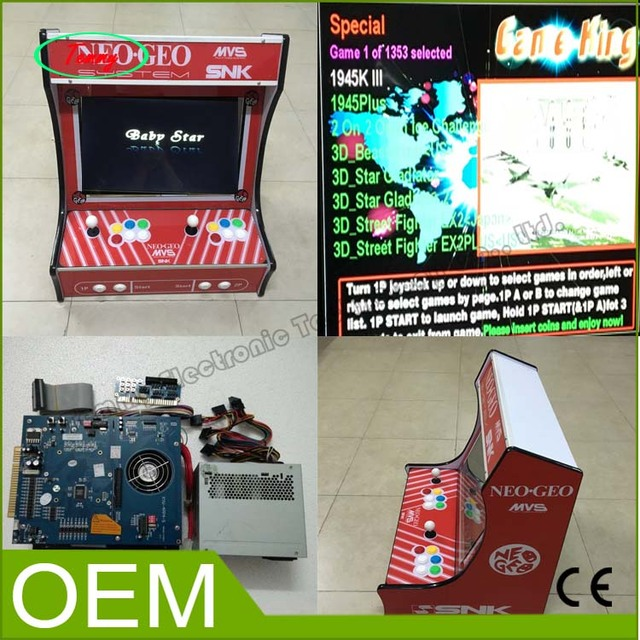 Cheap SNK Mini Household game machine use 2019 in 1 board ,SANWA joystick and button Arcade Game Machine