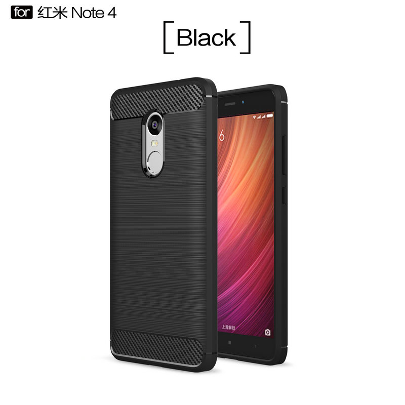 Slim Armor Cover Case for <font><b>Xiaomi</b></font> <font><b>Redmi</b></font> Note <font><b>4</b></font> <font><b>Pro</b></font> <font><b>Prime</b></font> 2GB <font><b>3GB</b></font> 4GB 16GB <font><b>32GB</b></font> 64GB Shockproof Leather Case Phone Back Cover image