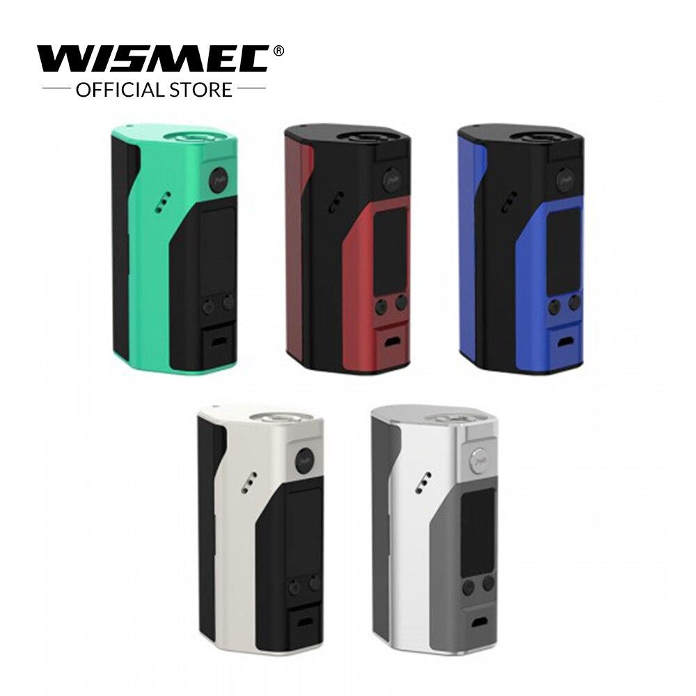 Original Wismec Reuleaux RX200S TC Mod Box VW/TC-Ni/TC-Ti/TC-SS/TCR mit 0,96 zoll Display Elektronische zigarette Vape Mod VS RX23