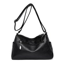 купить Female Bag 2019 Soft Leather Luxury handbags Women bags Designer Shoulder bags for women crossbody bag Sac a main femme new C862 дешево