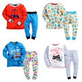 2016warm children clothing sets kid cloth winter thermal underwear kids long johns boys skin suit long john set character shirt