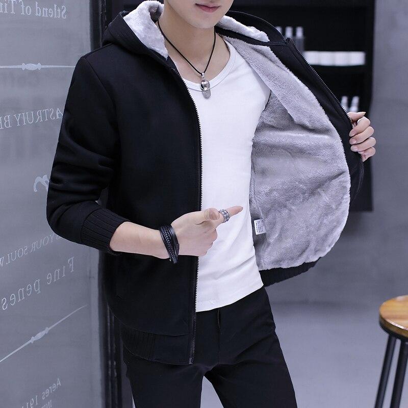 Sudadera para hombres 2018 Venta caliente gruesa Sudadera con capucha estampado dragon ball Anime moda Streetwear Fitness hombres ropa deportiva sudaderas