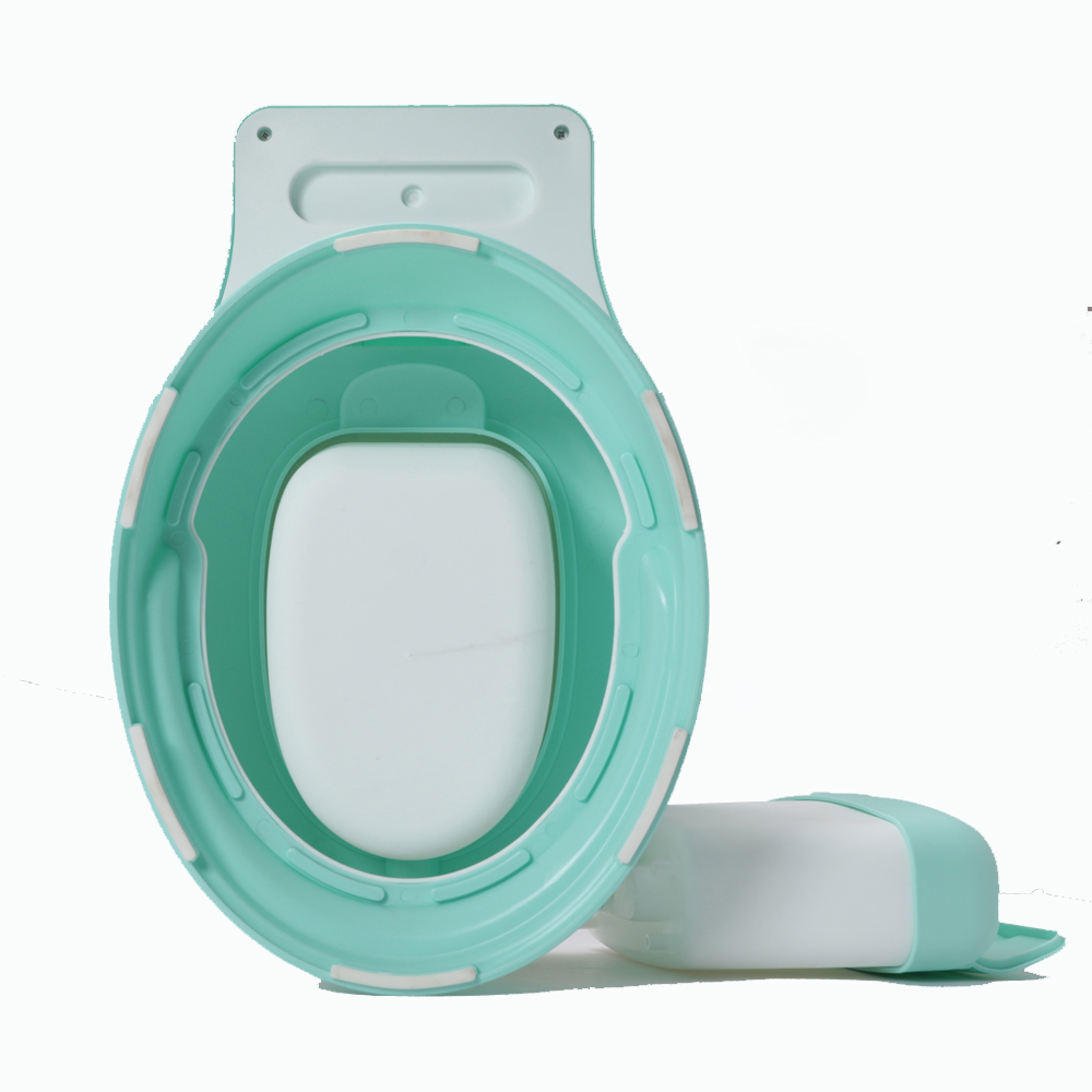 Купить с кэшбэком New design hot selling portable toilet for baby toilet potty for free potty brush+ cleaning bag