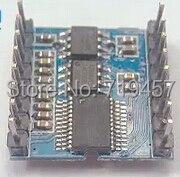 BY8001-16P музыкальный модуль, микроконтроллер последовательное управление TF/SD карты MP3 голосовой модуль чип