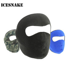 ICESNAKE Winter Warm Cap Ski Half Face Mask Outdoor Sport Thermal Fleece Scarf Snowboard Hiking Motorcycle Hat Hood недорого