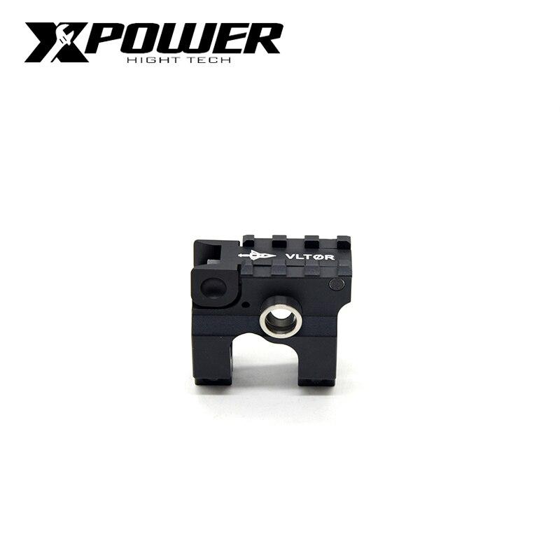 XPOWER VLTOL Fold Detachable Carry Handle For M4A1 Metal Air Guns Gel Blaster Wells V2