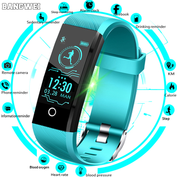 New Smart Watch For Men Women Blood Pressure Heart Rate Monitor Fitness Tracker