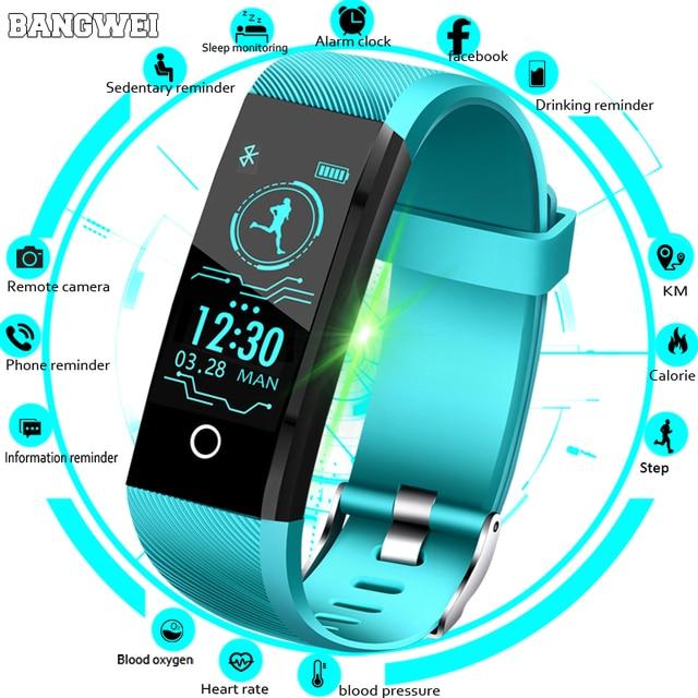 New Smart Watch For Men Women Blood Pressure Heart Rate Monitor Fitness Tracker