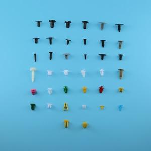 Image 3 - 200pcs/set Universal Mixed Auto Car Various Plastic Rivet Fastener Push Pin Bumper Fender Panel Car Accessories