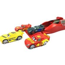 5Pcs/set Pixar Cars 3 Lightning McQueen 1:55 Diecasts Toy