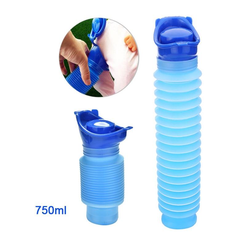 Toilet Reusable Portable Toilet Camping Car Travel Urinal Go Girl Urine Toilet Kids Pee Baby Potty Training Urinal Woman Pee Pot